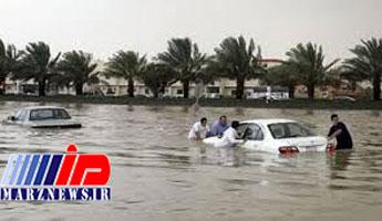 سیل در عربستان جان ۳۵ نفر را گرفت