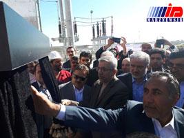 نخستین نیروگاه گازی ۴۲ مگاواتی ساخت داخل در زاهدان افتتاح شد