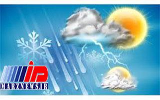 بارش ۲۵ سانتیمتری برف در مازندران