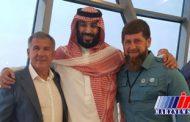 دیدار ولیعهد سعودی با روسایجمهوری چچن و تاتارستان در دبی