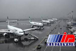 آخرین وضعیت پروازها در مناطق زلزله زده