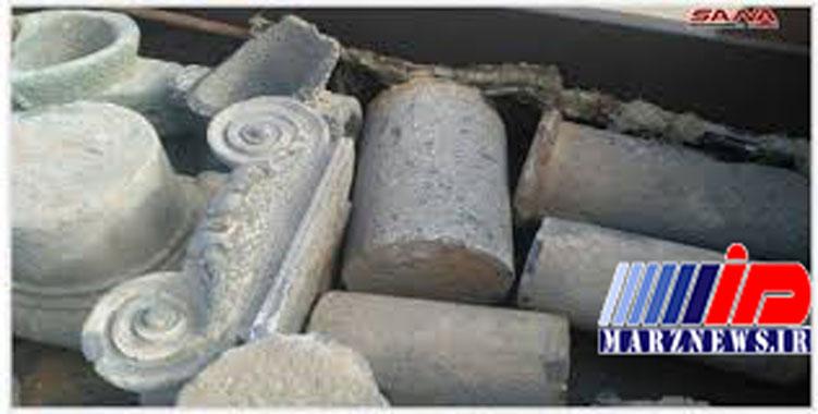 کشف بیش از 100 قطعه باستانی آماده قاچاق در جنوب سوریه + تصاویر