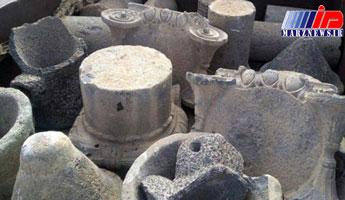 کشف بیش از ۱۰۰ قطعه باستانی آماده قاچاق در جنوب سوریه + تصاویر