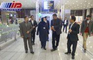 بازدید مدیرعامل ایرانایر از فرودگاه امام خمینی(ره)