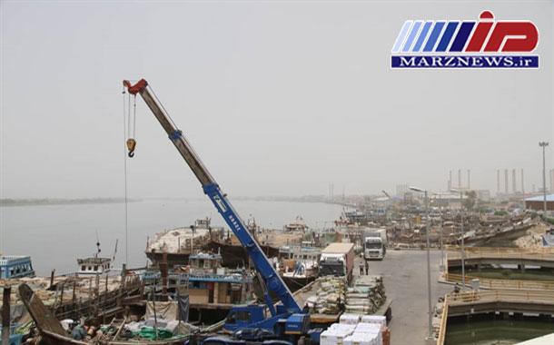رشد صادرات به عراق از بندر آبادان