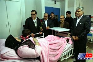 فاز دوم بیمارستان شهدای شهرستان سرپل ذهاب افتتاح شد