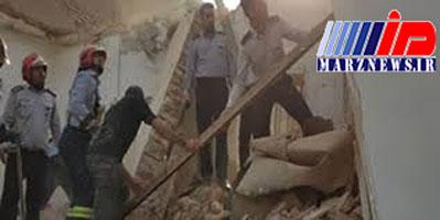 انفجار یک واحد مسکونی بر اثر نشت گاز در اهواز