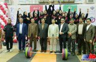 دختران کردستان قهرمان المپیاد وزنه برداری کشور شدند
