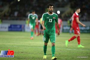 بشار رسن بهترین بازیکن سال عراق شد