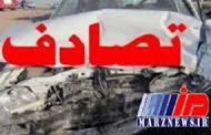 ۹ کشته و زخمی در یک تصادف در سهراهی نیکشهر
