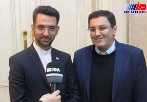 وزیر ارتباطات و فناوری اطلاعات ایران وارد باکو شد