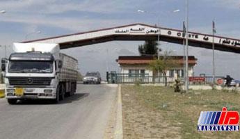 عبور کامیون های اماراتی از