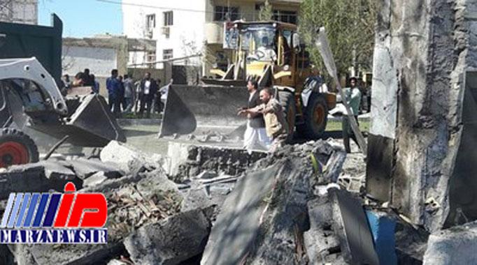 ۴ شهید و ۱۵ مجروح در حادثه تروریستی چابهار + عکس