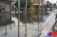 بارش باران باعث جاری شدن سیلاب در ۶ شهرستان خوزستان شد