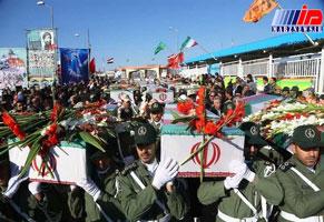 پیکرهای ۷۲ شهید دفاع مقدس از مرز شلمچه به وطن منتقل می شوند