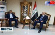مشاور جهانگیری با وزیر حمل و نقل عراق دیدار کرد
