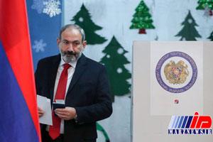 حزب پاشینیان اکثریت آرای پارلمان ارمنستان را کسب کرد