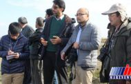 نماینده سازمان ملل از طرح های احیای دریاچه ارومیه بازدید کرد