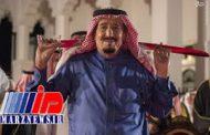 رقص شمشیر ملک سلمان با پادشاه بحرین +تصاویر