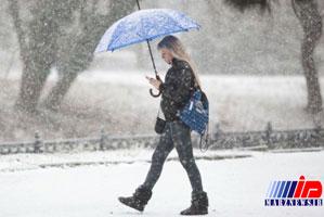 برف سیاه در روسیه مردم را غافلگیر کرد