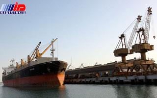 نخستین محموله غیرنفتی هرمزگان به عمان رسید