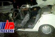 ۴ کشته در تصادف جاده آذربایجان غربی