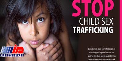 قاچاق بیش از ۸ میلیون کودک بهعنوان بردگان جنسی