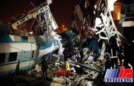 کشته شدگان حادثه تصادف قطار در ترکیه به ۹نفر افزایش یافت