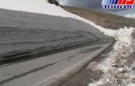 کولاک جاده هریس - مشگین شهر را مسدود کرد