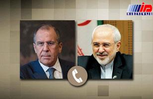 وزیران امور خارجه ایران و روسیه تلفنی گفت وگو کردند