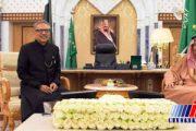 رییس جمهوری پاکستان با پادشاه عربستان دیدار کرد