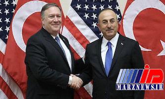 گفتوگوی تلفنی وزرای خارجه ترکیه و آمریکا