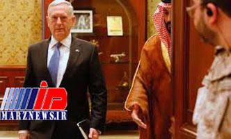 مطالبه پنتاگون از عربستان و امارات بابت جنگ یمن