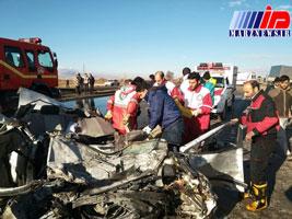 تصادف در محور طبس-یزد ۵ کشته و ۲ مصدوم داشت