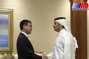 ژاپن آماده میانجیگری میان قطر و عربستان است