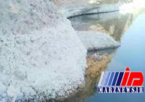 توده نمکی در پشت سد گتوند به ۱۰ میلیون تن رسید