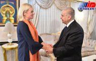 خانم وزیری که نماینده ویژه دبیرکل در عراق شد