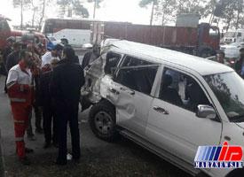 تخلف راننده استانداری، علت تصادف «نوربخش» و «تاجالدین» اعلام شد