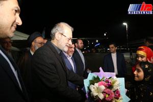 رییس مجلس شورای اسلامی وارد بندرعباس شد