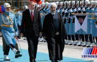 استقبال رسمی اردوغان از روحانی در آنکارا