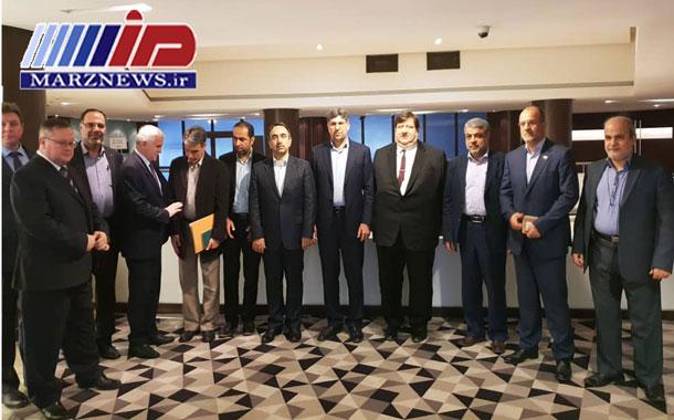امضای قرارداد همکاری مرزی با روسیه