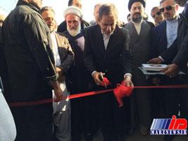 افتتاح ترمینال فرودگاه ایرانشهر توسط جهانگیری