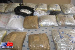 ۲ تن مواد مخدر در مرز زابل کشف شد