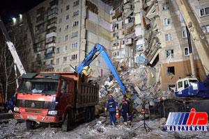 شمار کشته های انفجار گاز در روسیه به ۸ تن رسید