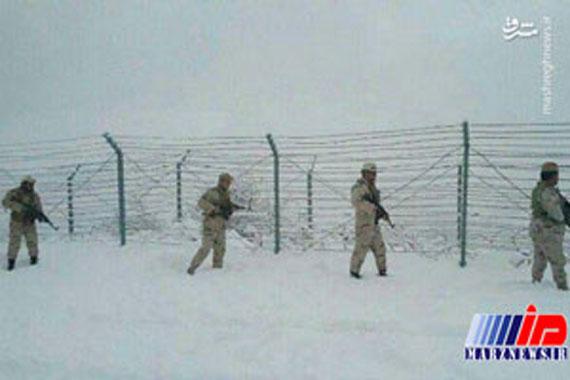 مرزبانی از ایران در سرمای زیر صفر درجه!