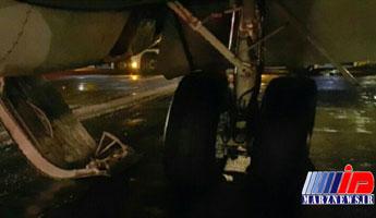 هواپیمای مشهد - تبریز دچار حادثه شد