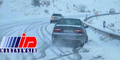 بارش برف در تبریز باعث ۱۸۰ تصادف شد