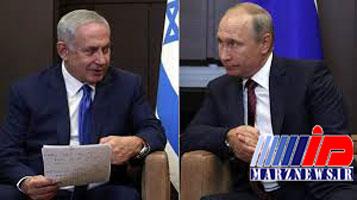 گفتگوی پوتین و نتانیاهو درمورد سوریه