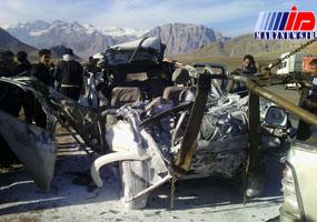 حادثه رانندگی در جاده هرسین ۳ کشته بر جا گذاشت
