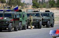 حضور پلیس نظامی روسیه در منبج سوریه
